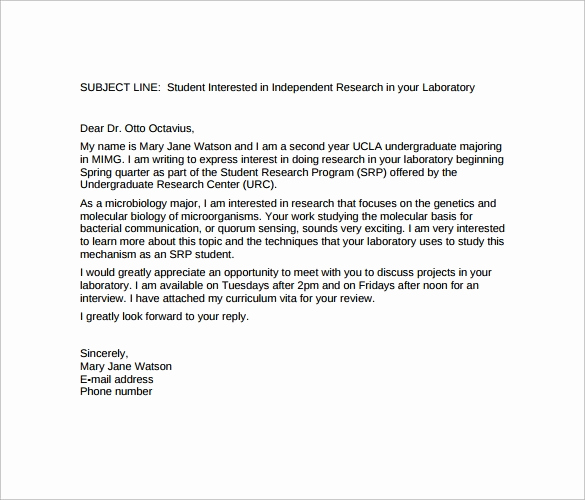 Email Cover Letter Example Elegant Best Email Cover Letter Template to Download 12 Free