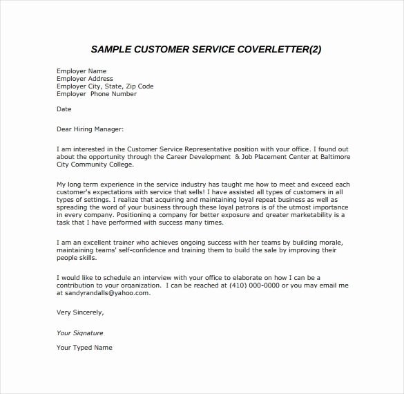 Email Cover Letter Example Fresh Email Cover Letter Sample