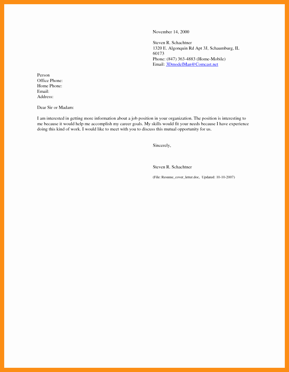 Email Cover Letter Example Luxury Sending Resume Via Email Sample
