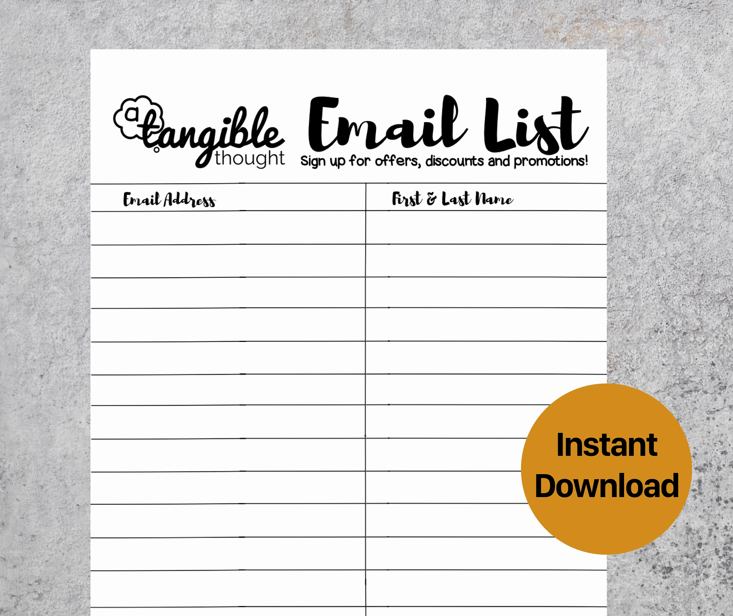 Email Sign Up Sheet Fresh Email Sign Up Template – Emmamcintyrephotography