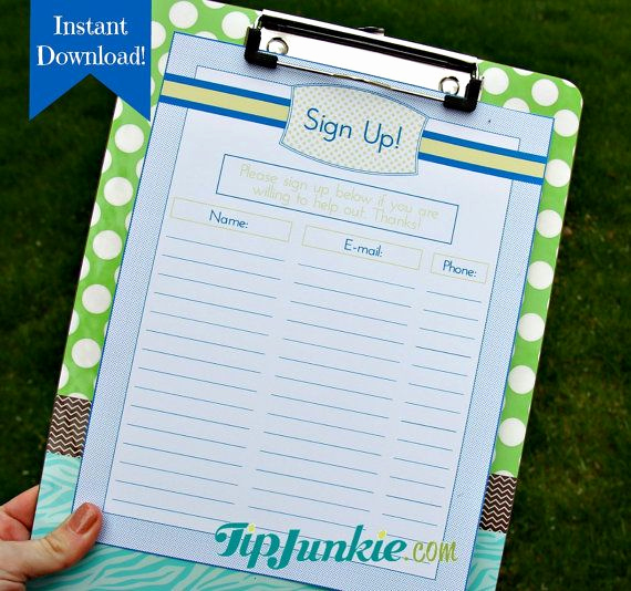 Email Sign Up Sheet Template Inspirational 38 Best Images About Sign Up On Pinterest