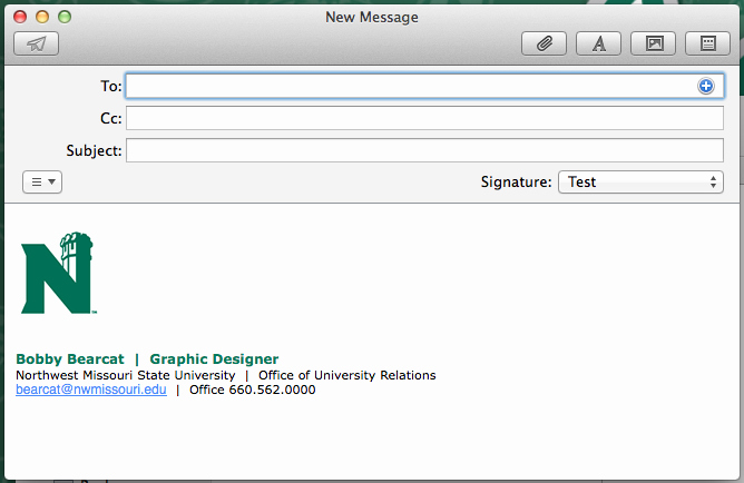 Email Signature for College Student Fresh Design University Marketing and Munication