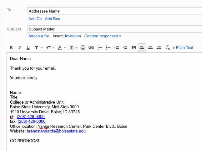 Email Signature for College Student Fresh Email Signature Brand Standards