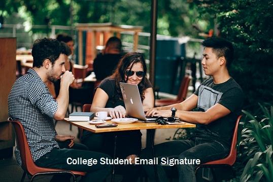 Email Signature for College Student Unique How to Create College Student Email Signature Diy Guide