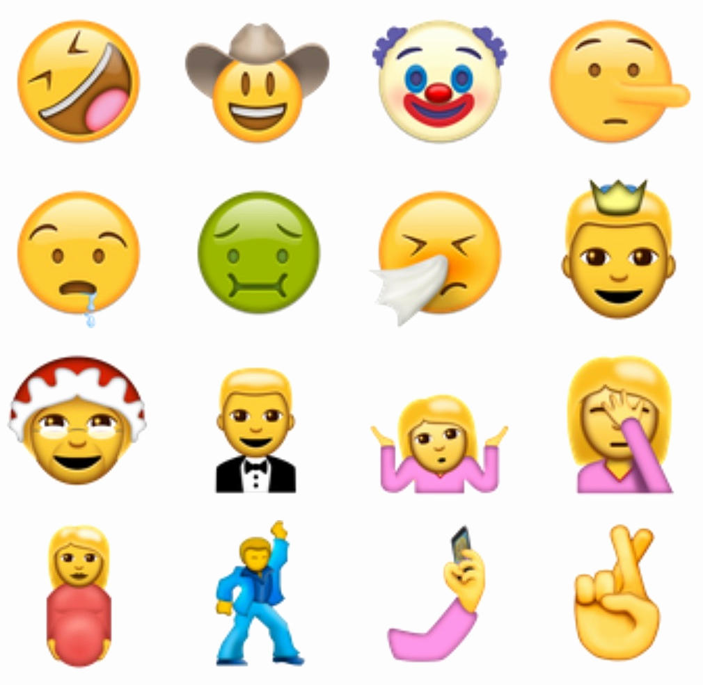 Emoji Pictures Copy and Paste Best Of How to Use 72 New Emoji Icons Right now From Unicode 9