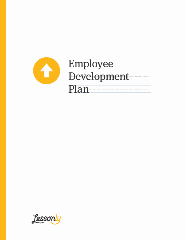 Employee Development Plans Templates Awesome Free Employee Development Plan Template Lessonly