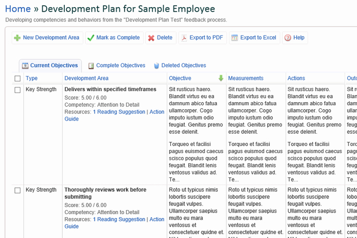 Employee Development Plans Templates Unique Index Of Cdn 29 1991 343