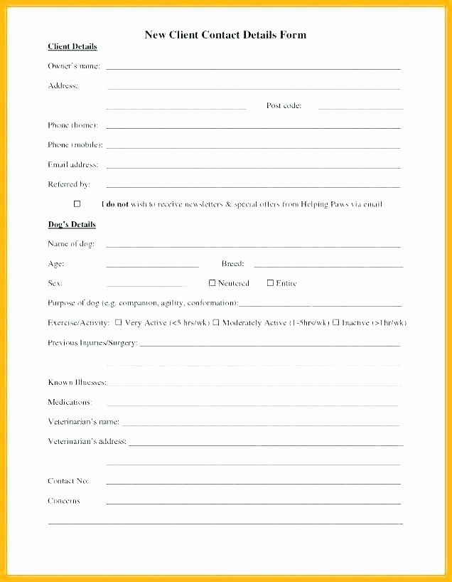 Employee Emergency Contact form Elegant Employee Emergency Contact form Template Uk