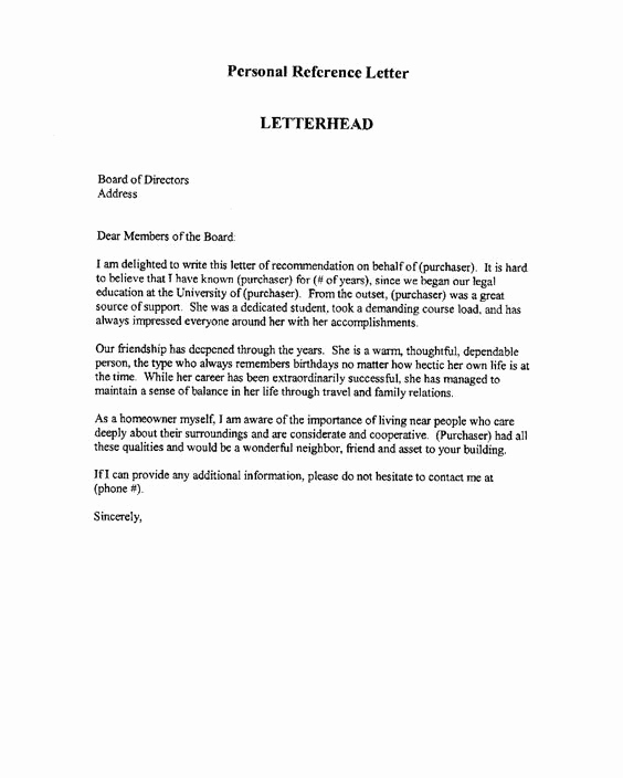 Employee Letters Of Recommendation Lovely Professional Re Mendation Letter This is An Example Of