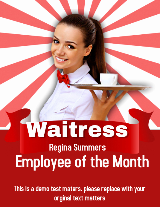 Employee Of the Month Template Unique Employee Of the Month Template