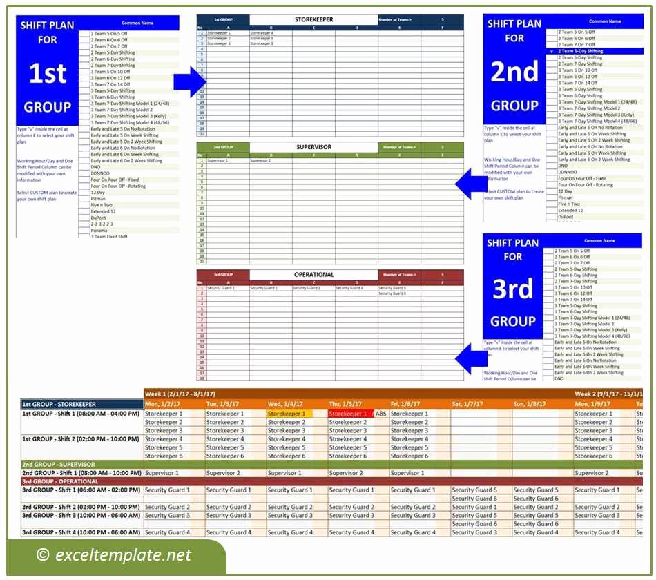 Employee Shift Schedule Template Beautiful Employee Shift Schedule Generator