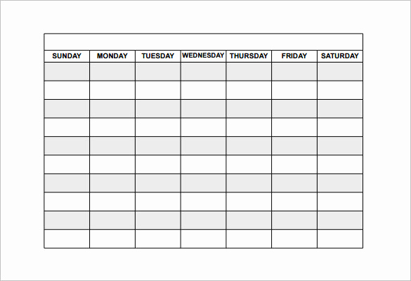 Employee Shift Schedule Template Inspirational Employee Shift Schedule Template 15 Free Word Excel