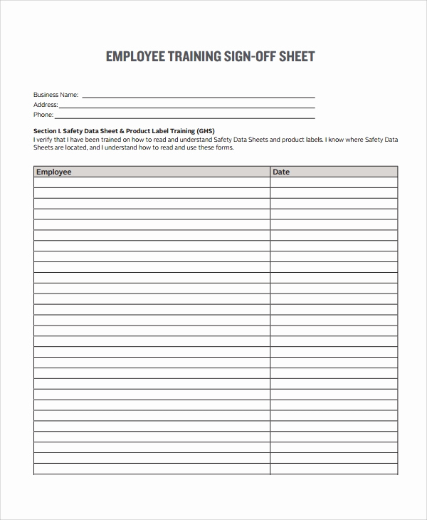 Employee Sign In Sheets Unique 8 Sample Sign F form Templates Pdf