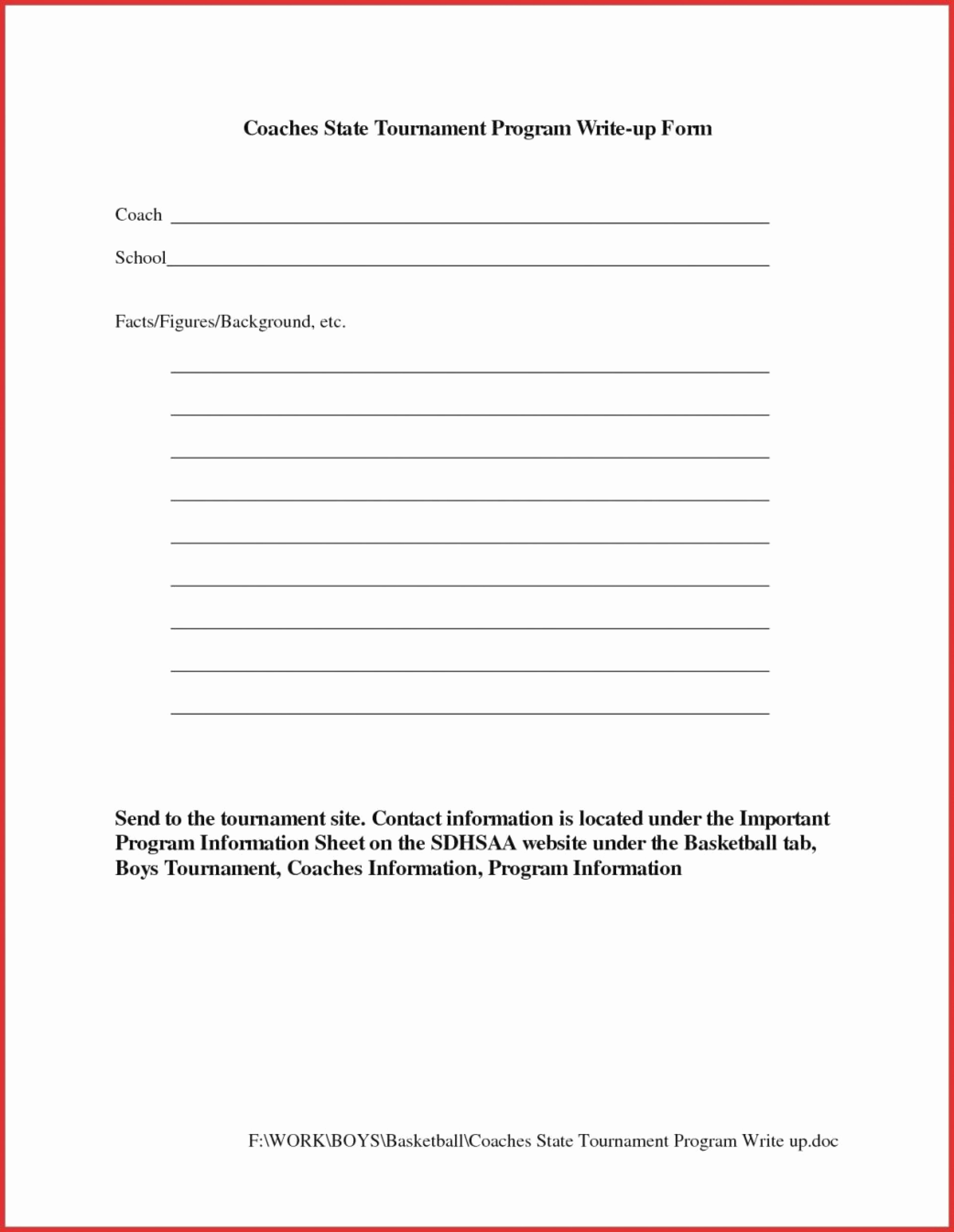 Employee Write Up form Pdf Lovely Lab Write Up Template Pdf Free forms for Employees