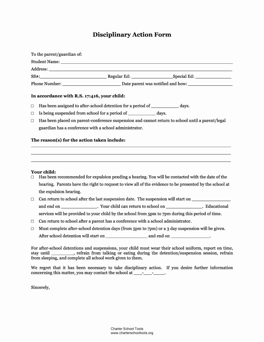 Employee Write Up Templates Elegant 46 Effective Employee Write Up forms [ Disciplinary