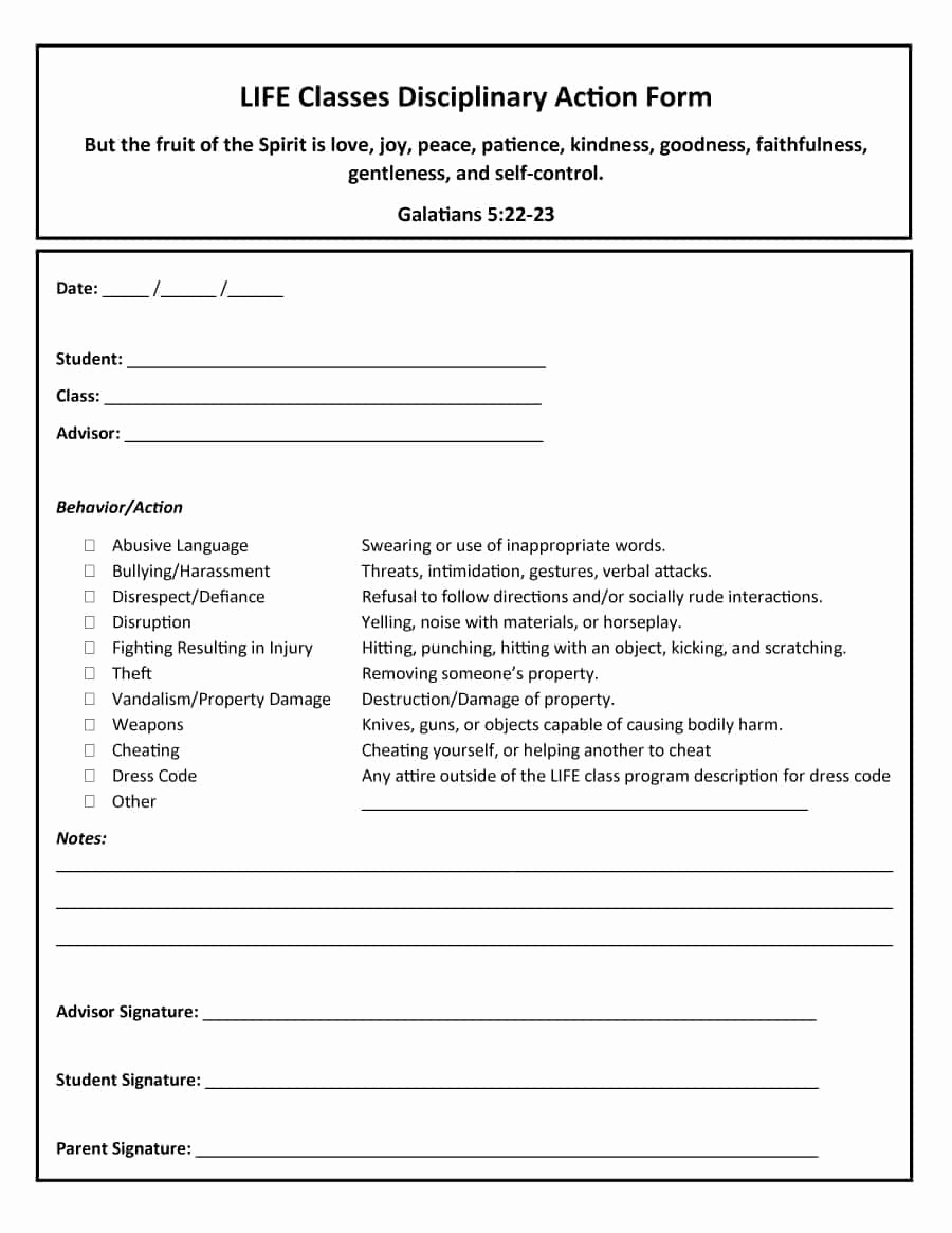 Employee Write Up Templates Lovely 46 Effective Employee Write Up forms [ Disciplinary