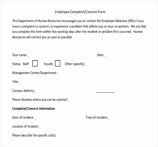 Employee Write Up Templates New 13 Employees Write Up Templates – Free Sample Example