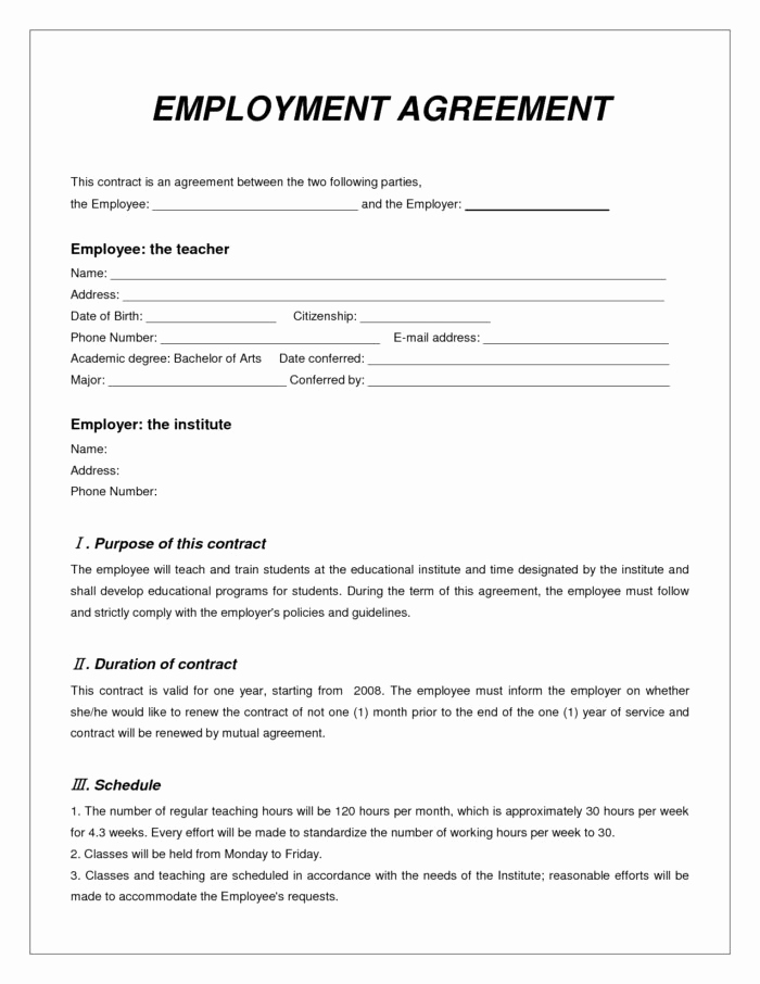 Employment Contract Template Word New Employment Verification Template Word Templates Resume