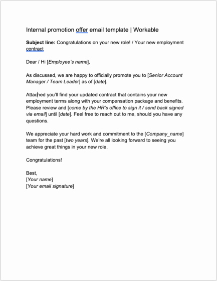 Employment Offer Letter Template Elegant 8 Job Offer Letter Templates for Every Circumstance Plus