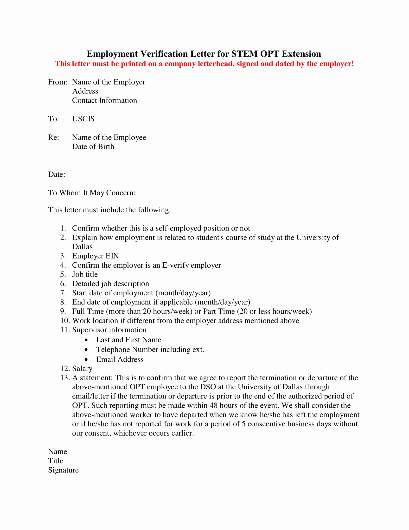 Employment Verification Letter for Visa Fresh 14 Employment Verification Letter Examples Pdf Doc