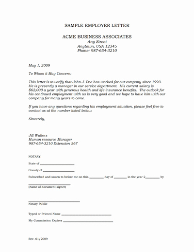 Employment Verification Letter Template Awesome Employment Verification Letter Template Edit Fill,create