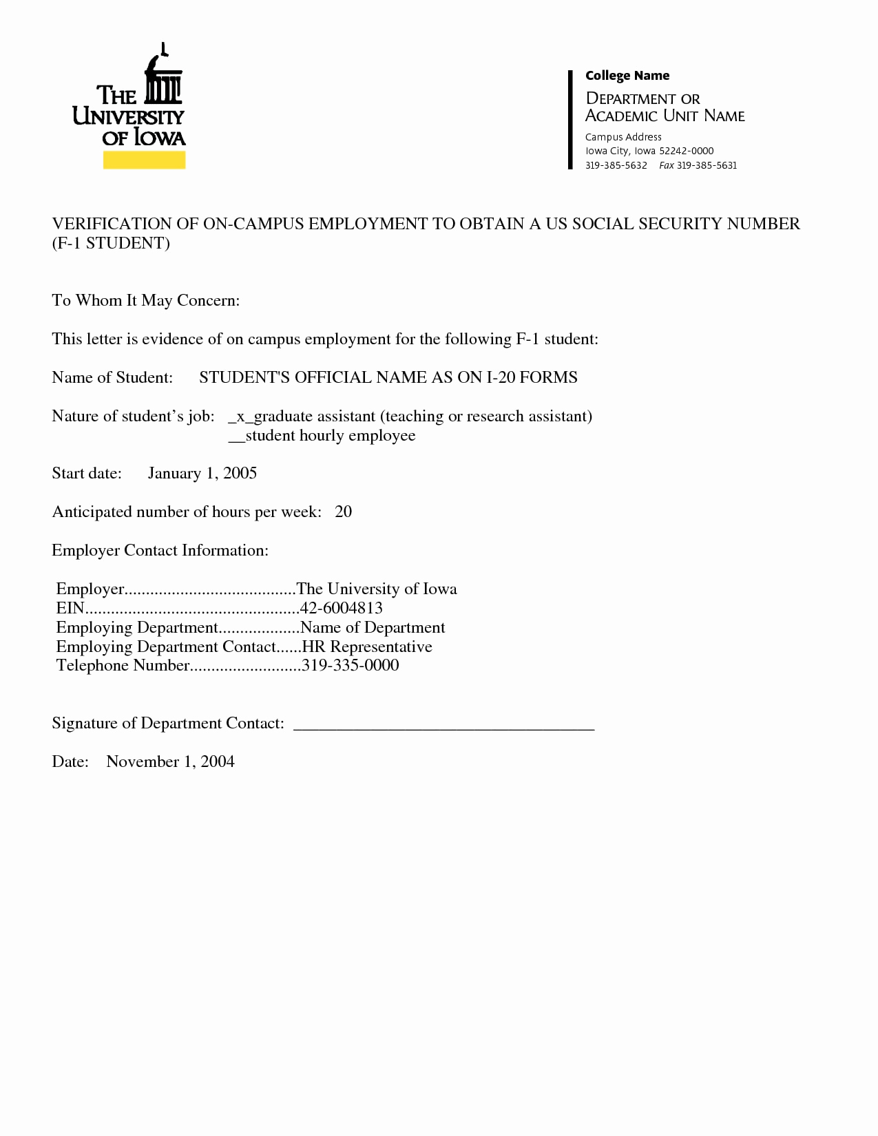 Employment Verification Request form Fresh 9 Verification Of Employment Letter Examples Pdf