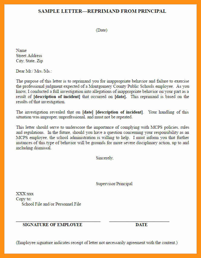 Employment Write Up Template Inspirational Template for Employee Write Up