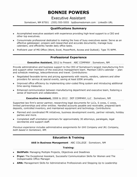 Entry Level Administrative assistant Resume Luxury Administrative assistant Resume Professional Template