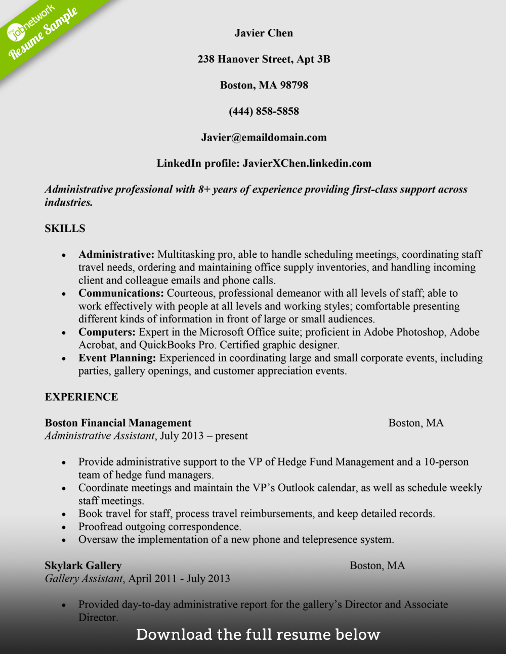 Entry Level Administrative assistant Resume Luxury Resume Summary Examples Entry Level Administrative