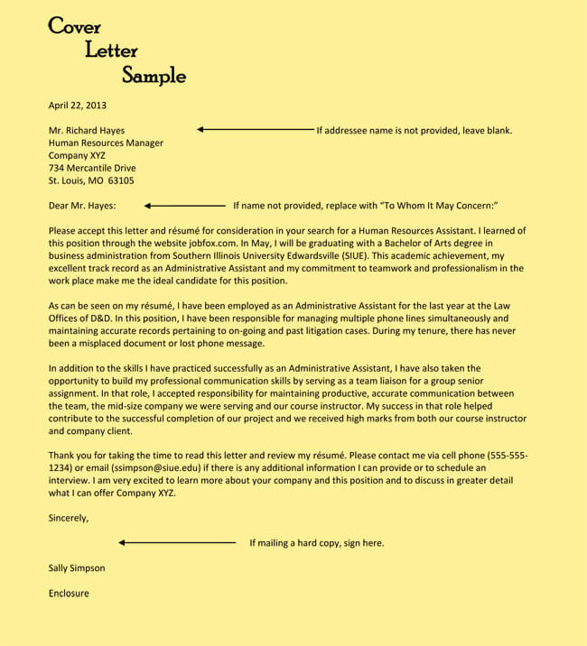 Entry Level Cover Letter Examples Beautiful Administrative assistant Cover Letter Examples 10 formats