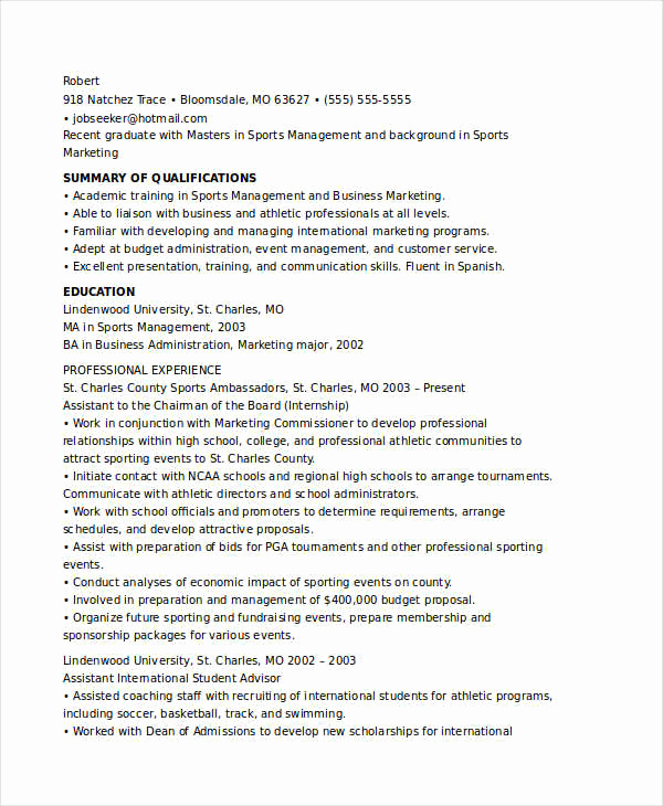 Entry Level Marketing Resume Beautiful 45 Marketing Resume Templates Pdf Doc