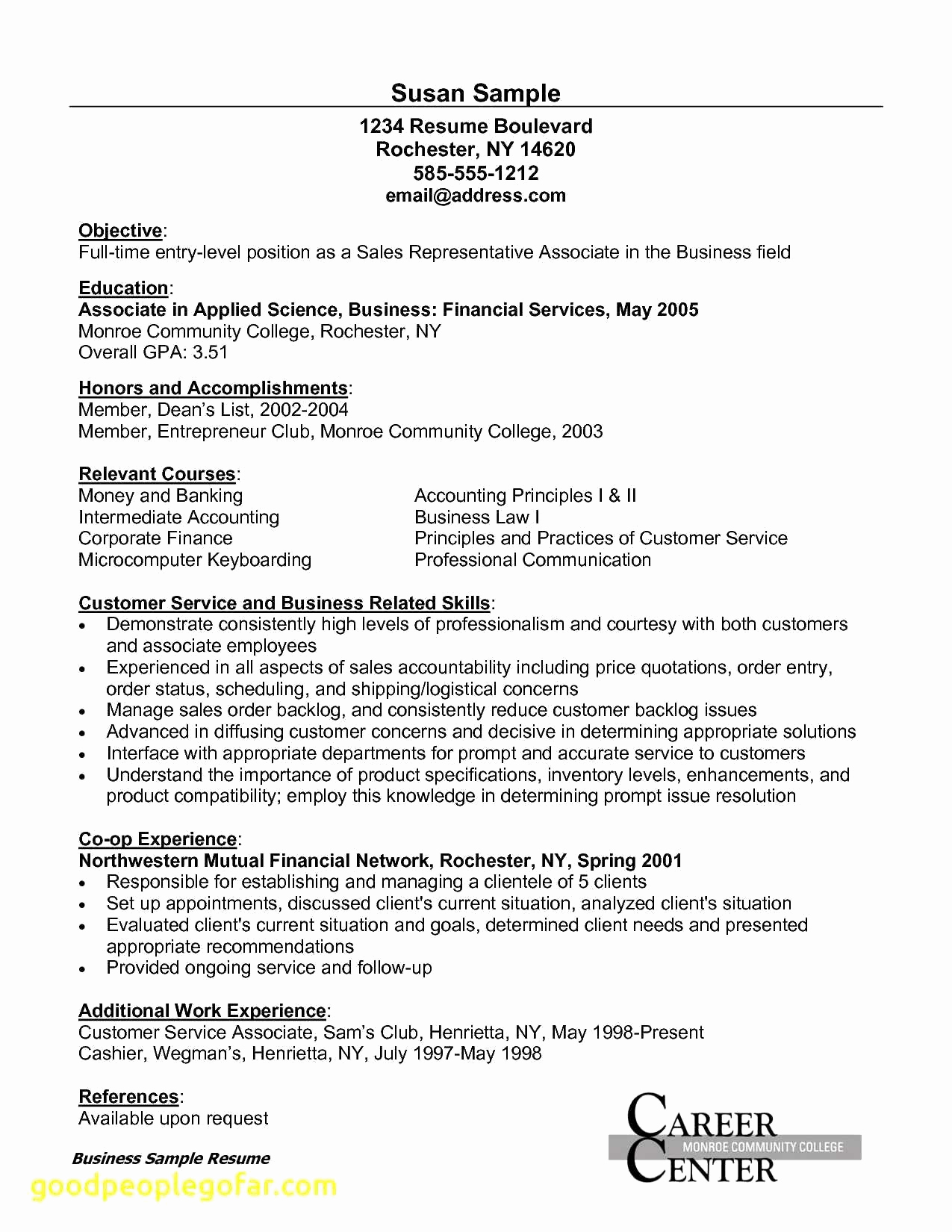 Entry Level Marketing Resume Elegant Entry Level Marketing Resumes