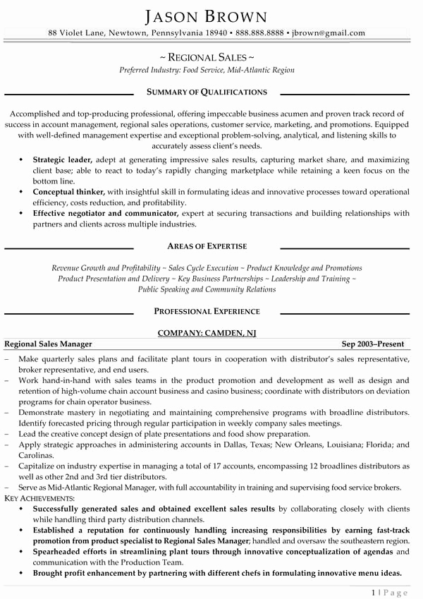 Entry Level Marketing Resume Elegant Sales Resume Examples Resume Professional Writers