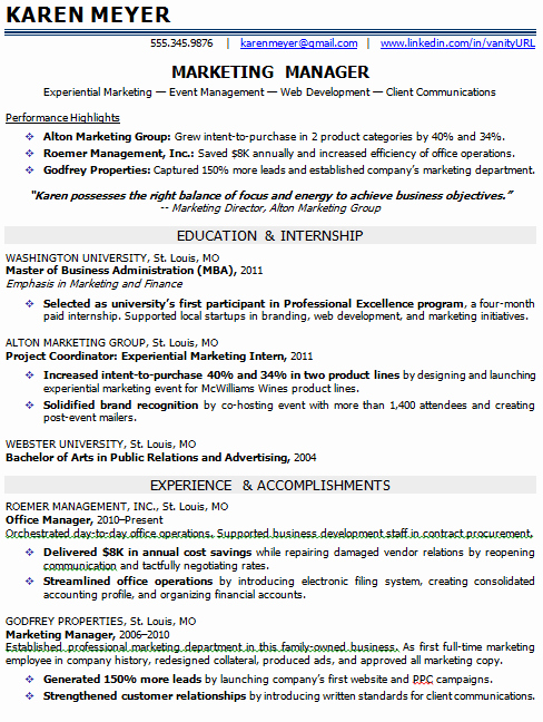 Entry Level Marketing Resume Unique Entry Level Marketing Resume