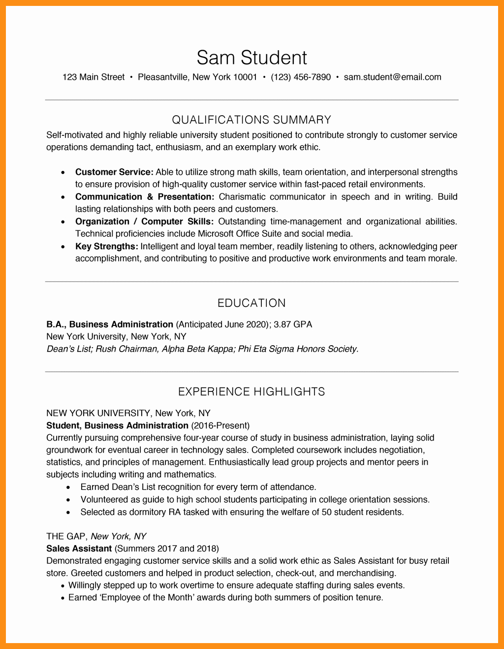 Entry Level Resume No Experience Fresh 12 13 Entry Level It Resume No Experience