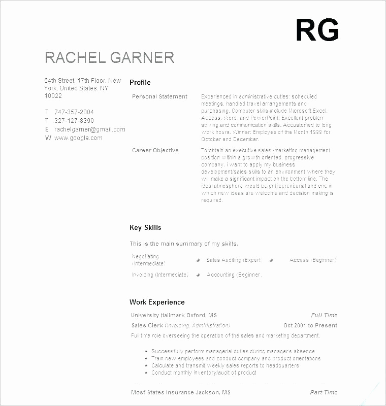 Entry Level Resume No Experience Fresh 15 Entry Level It Resume No Experience