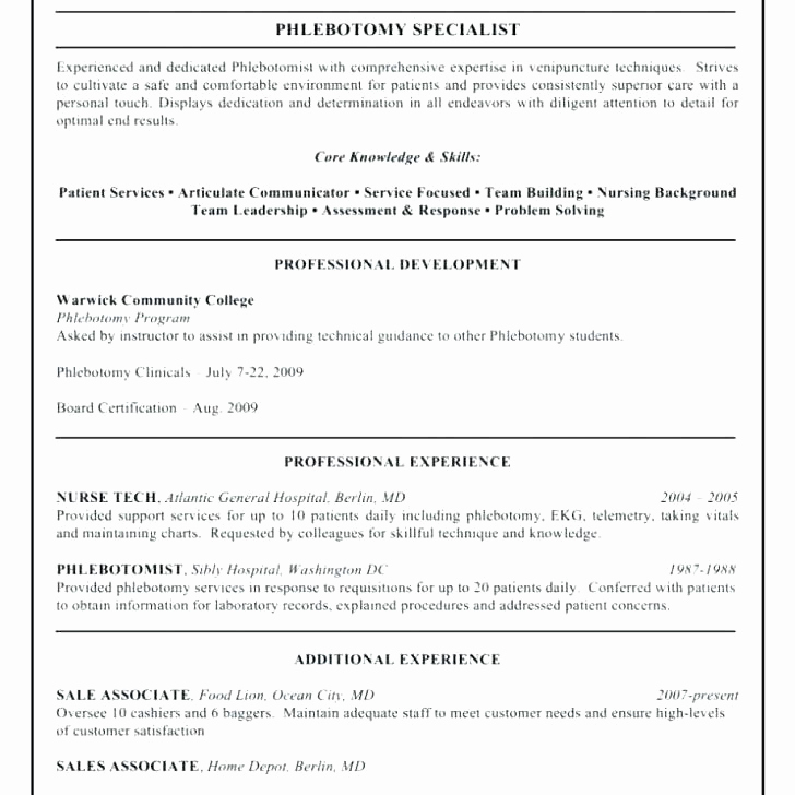 15entry level it resume no experience