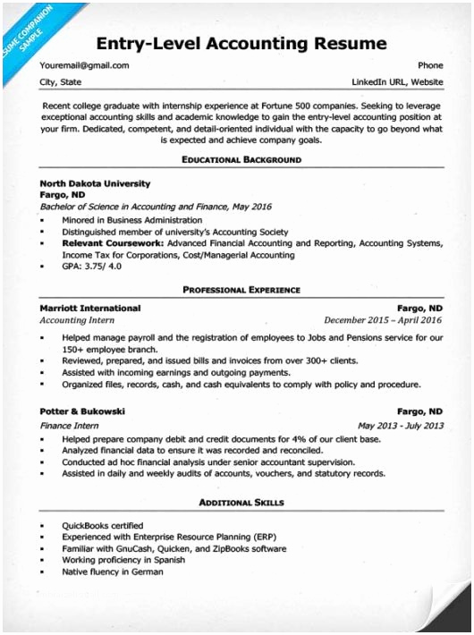 Entry Level Resume No Experience New 15 Entry Level It Resume No Experience