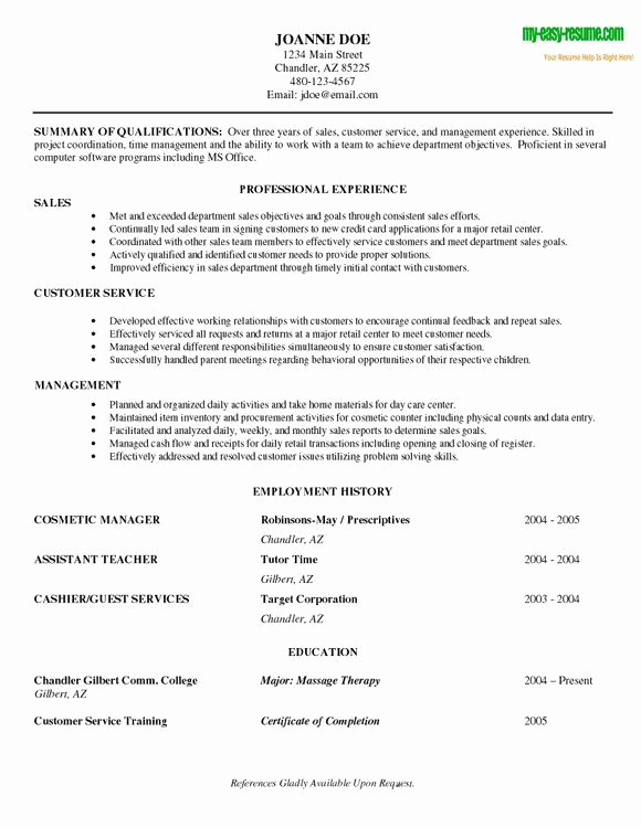 Entry Level Sales Resume New Entry Level Resume Sample Functional Resume