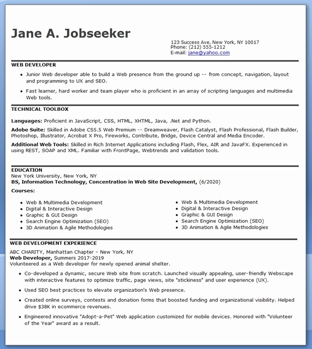 Entry Level Web Developer Resume Fresh Sample Resume Entry Level Help Desk Dental Vantage
