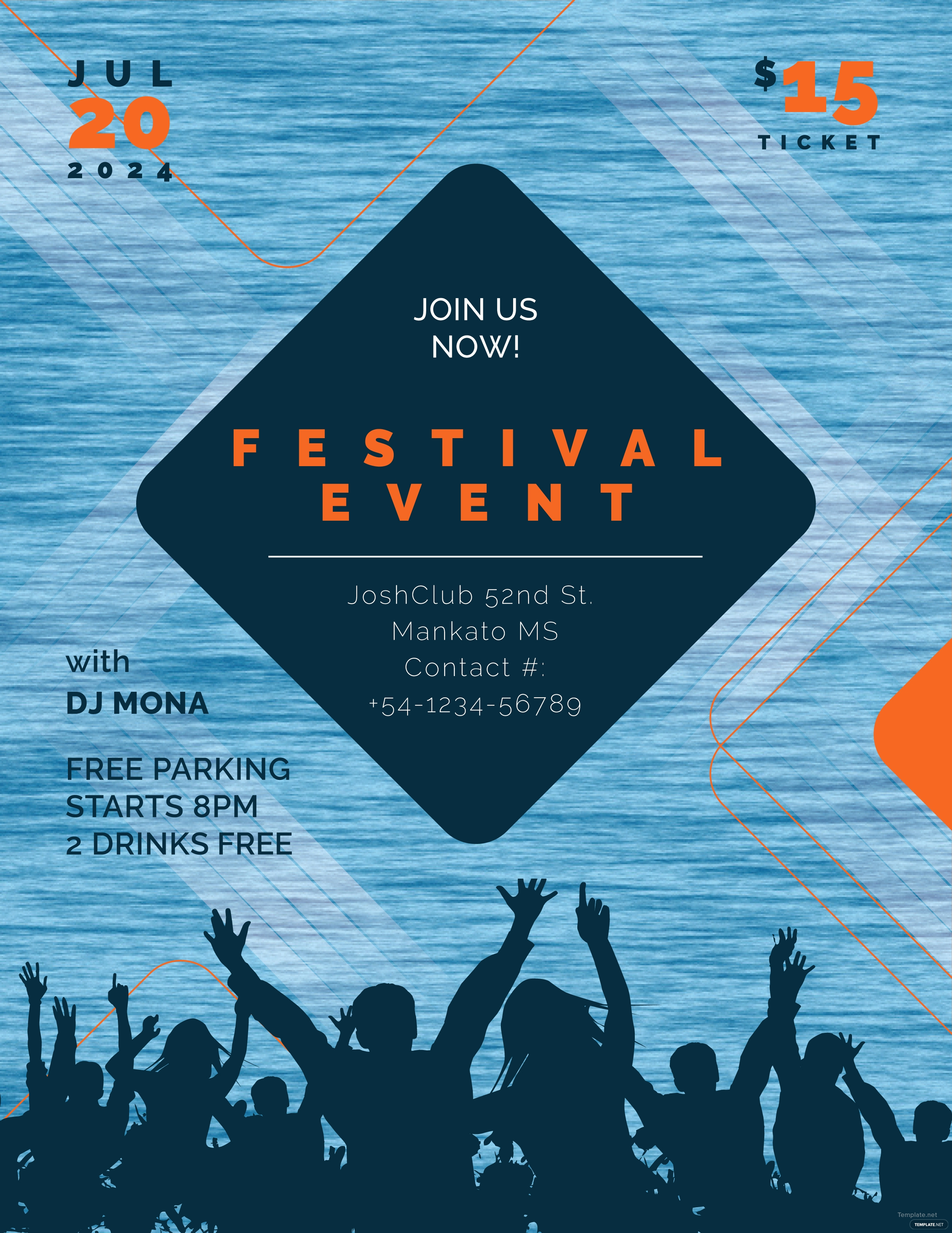 Event Flyer Templates Free Best Of Free event Flyer Template In Adobe Shop Microsoft