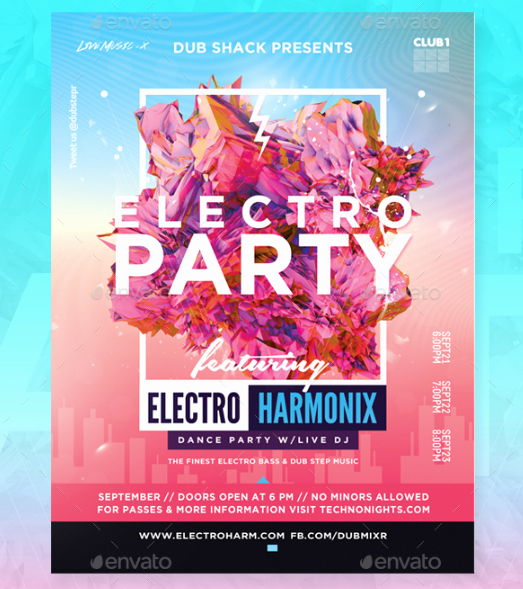 Event Flyer Templates Free Elegant 15 Free Party and event Flyer Psd Templates Xdesigns