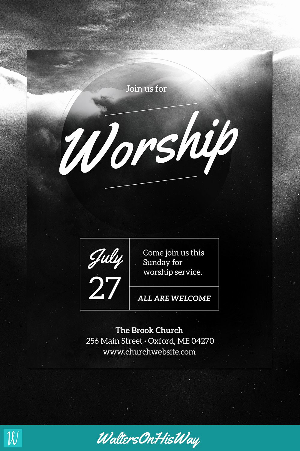 Event Flyer Templates Free Fresh Diy Church event Flyer Template Heavenly Worship for