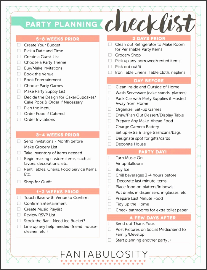 Event Planning Checklist Template Lovely 10 Church event Planning Checklist Example