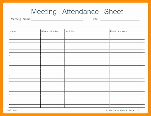 Event Sign In Sheet Fresh 12 Aa Meeting Sign In Sheet