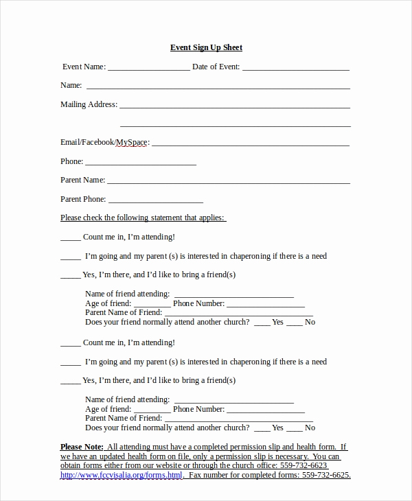 Event Sign In Sheet Inspirational Sign Up Sheet 16 Free Pdf Word Documents Download