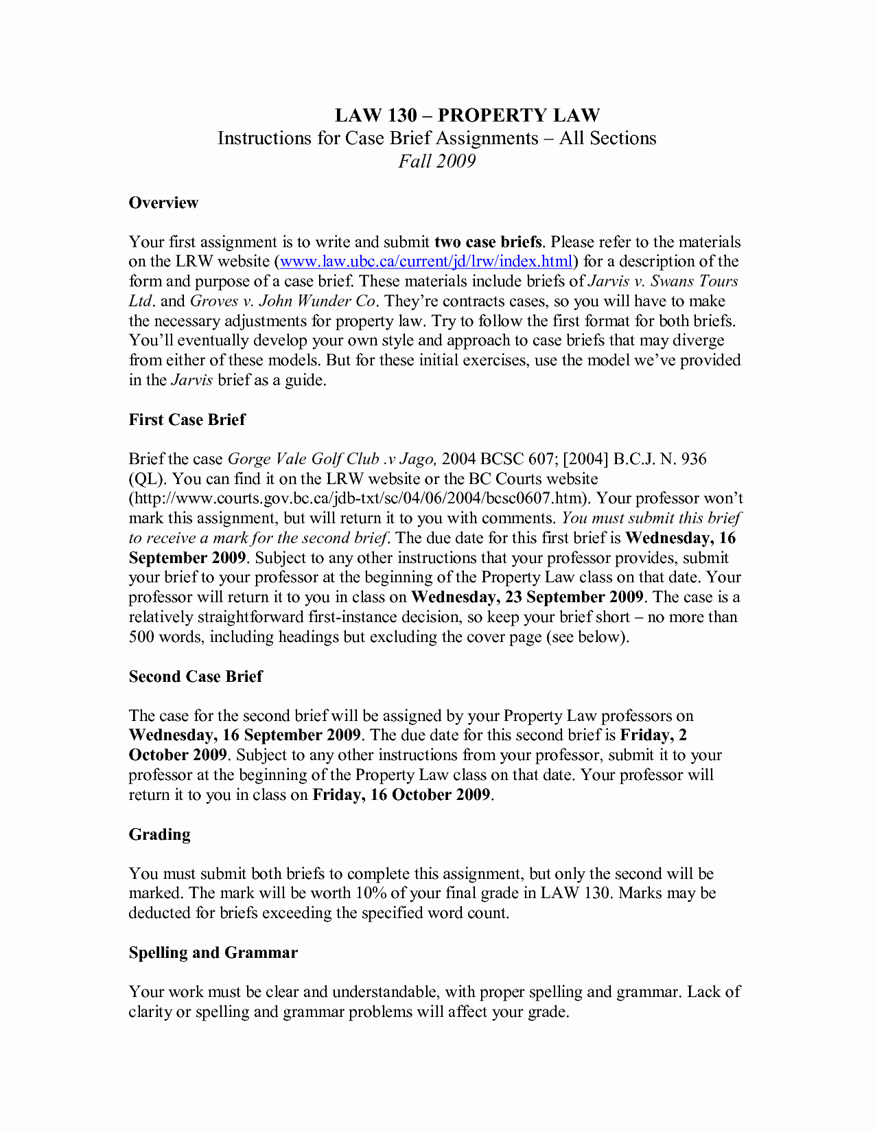 Example Of A Case Brief Awesome Case Brief Template