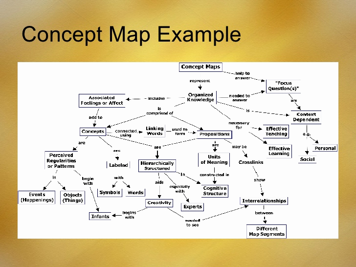 Example Of A Concept Beautiful Concept Maps