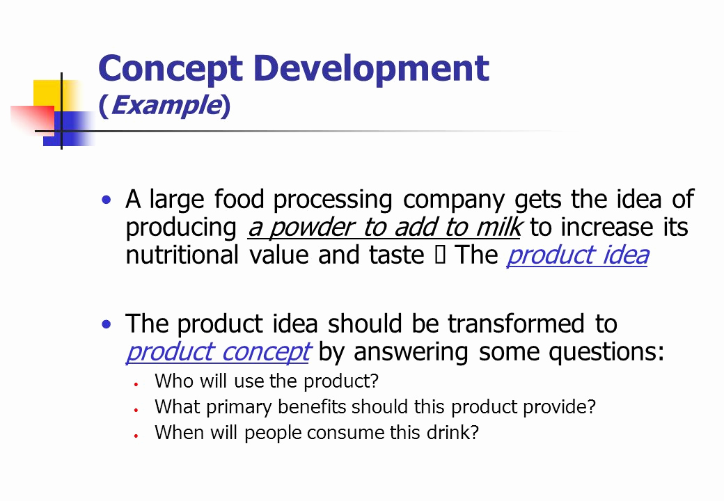 Example Of A Concept Unique New Product Development & Product Life Cycle Strategies