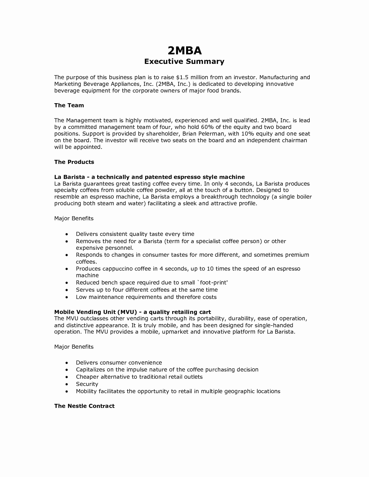 Example Of An Executive Summary Awesome 9 Executive Summary Marketing Plan Examples Pdf Word
